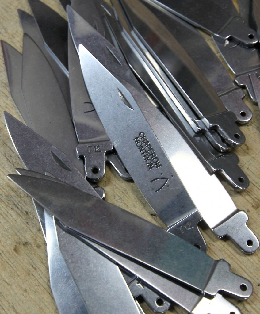 Lames de couteaux de Nontron
